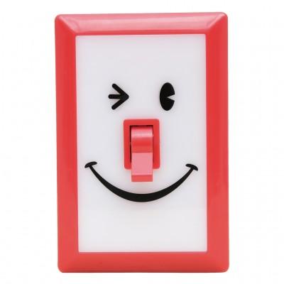 Linterna switch sonrisas roja