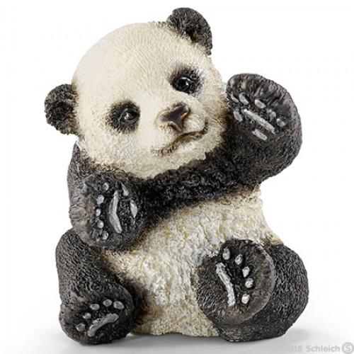 Panda bebe jugando disponible en: www.happyeureka.com