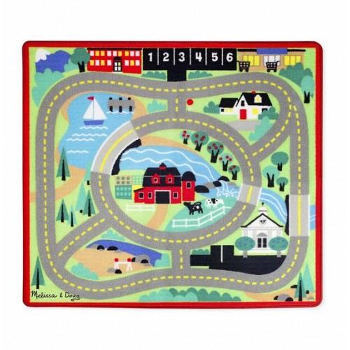 Tapete con carritos para jugar disponible en: www.happyeureka.com